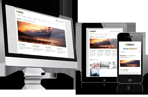 Desenvolvimento de Sites Responsivos, sites para celulares.