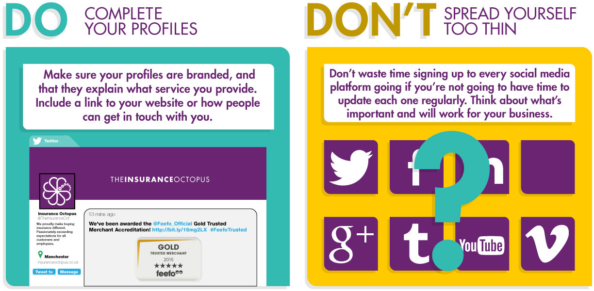 Do's and Dont's of Social Media for SMEs